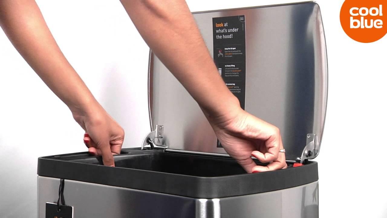 Eko Rejoice Pedaalemmer 30 30 Liter.Simplehuman Rectangular Classic Pedaalemmer Videoreview En Unboxing