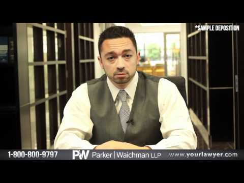 Car Accident Deposition Questions from Attorney Jonathan Macri