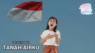 Lagu Nasional Tanah Airku    cover by Ceo Jati Atmodjo
