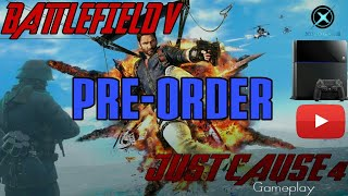 New Upcoming Game in Ps4 ,XBox!!!!!! 2018 !! Battlefield V !!! Just Cause 4 !!! Gameplay !!