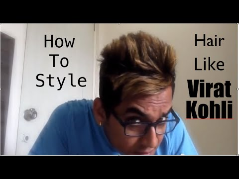 how to style your hair like a greaser how to style hair like virat kohli 7280