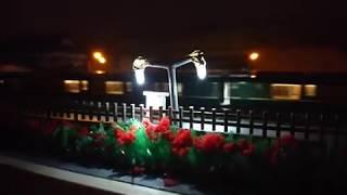 【鉄道模型】ローカル駅を通過する(KATO`)トワイライトエクスプレス瑞風