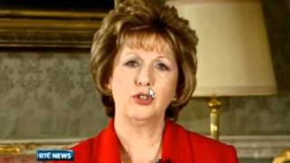 Christmas message from Mary McAleese,President of Ireland..wmv