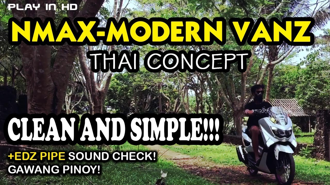 Nmax Modern Vanz- Thai Concept walk around