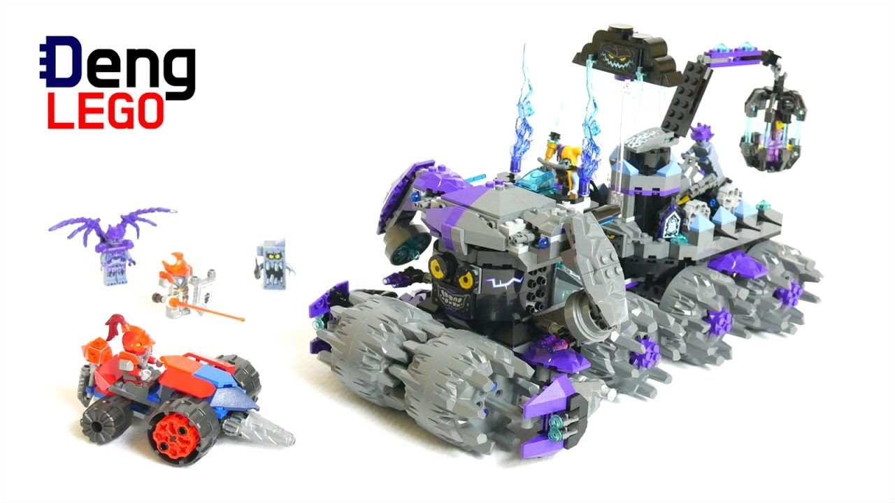 Lego Nexo Knights Speed Build