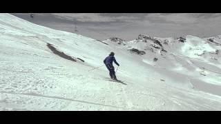 Siente la nieve primavera de Sierra Nevada