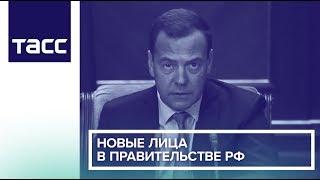 Новые лица в правительстве РФ