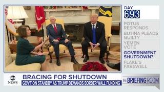 Briefing Room: Trump denies he