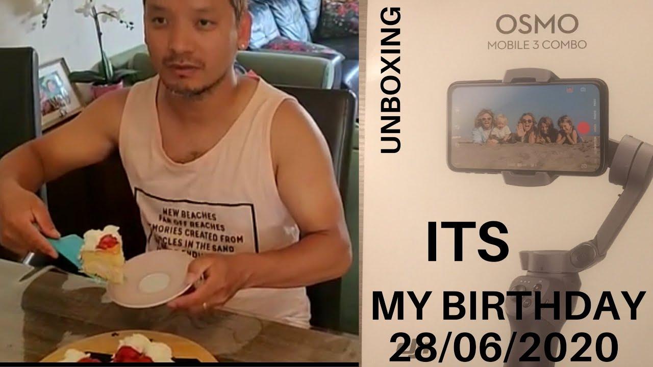 Vlog 49// insta live birthday celebration// Osmo Mobile 3 combo unboxing//