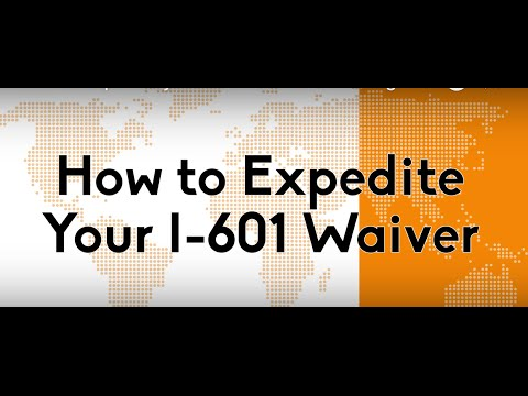 How to Expedite your I-601 or I-601A Immigration Waiver