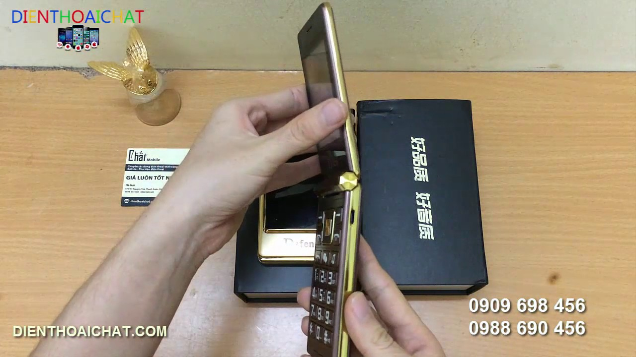 Điện thoại 2 màn hình Dsfen 2 sim – Điện thoại độc lạ mắt – Điện thoại nắp gập sành điệu