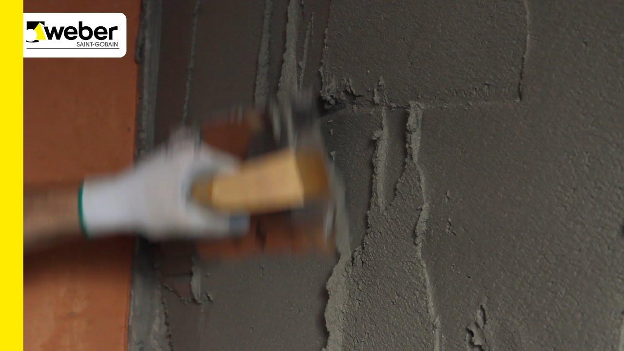 C mo preparar una pared antes de revestir youtube - Revestir pared exterior ...