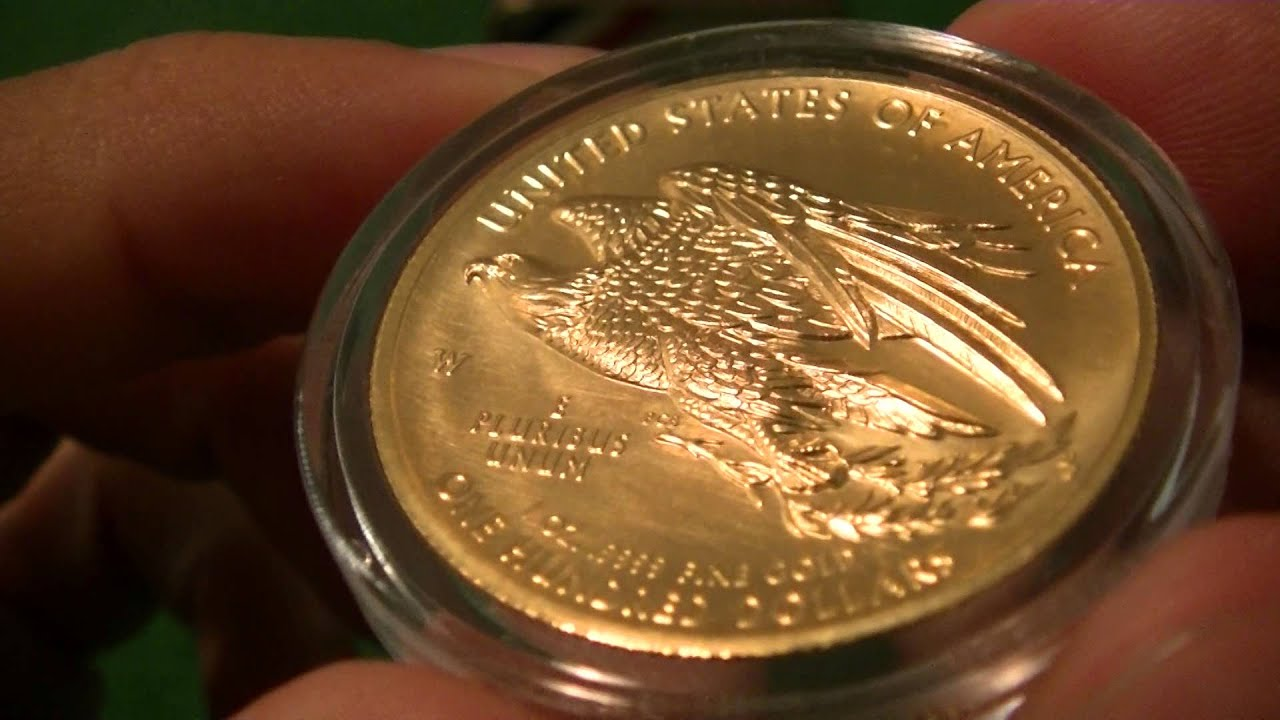 2015 American Liberty High Relief Gold Coin 1080P HD