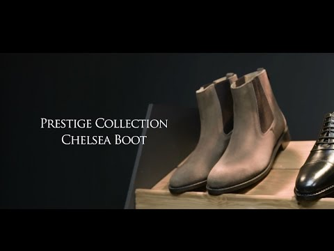279a392bcc59 Prestige Suede Chelsea Boot from Samuel Windsor - YouTube