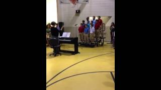 C.E. Hanna Elementary Awards Day - National Anthem