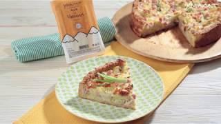 Картофельный пирог с чечилом