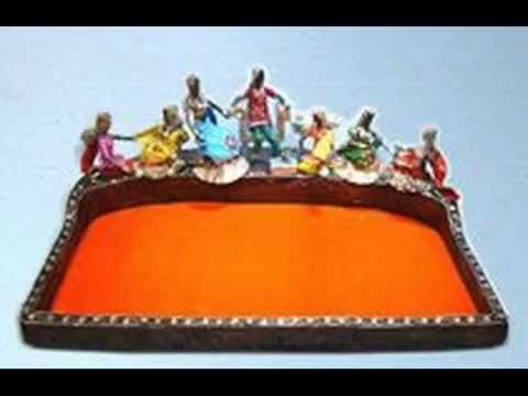 Indian Wedding Concept Trousseau Packing Trays