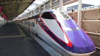 山形新幹線E3系2000番台135号山形行福島駅発車
