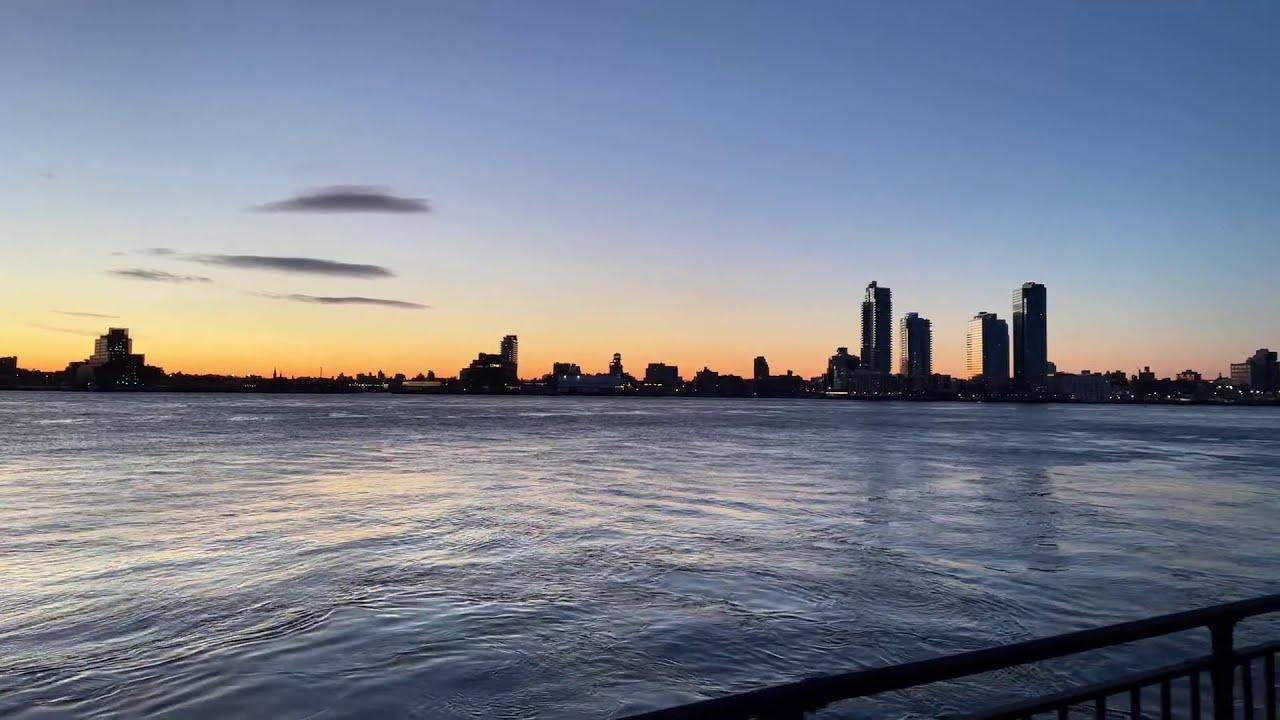 LIVE Walking Commute NYC: Maybe Sunrise? - Mar 5, 2021