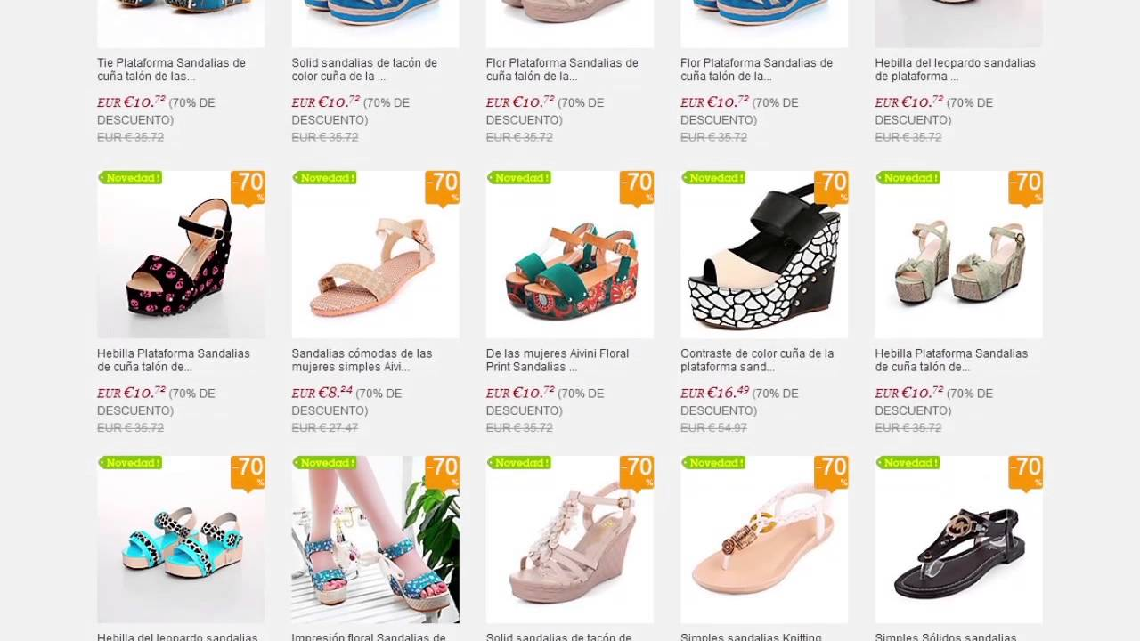 51c94a81783 Comprar Zapatos Baratos Online por Internet - YouTube