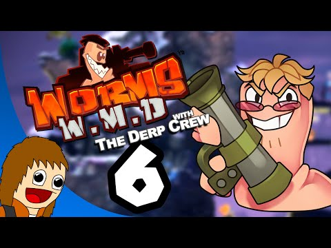Worms W.M.D.: Helium Microphone - Part 6 (w/ Ray and the Derp Crew)