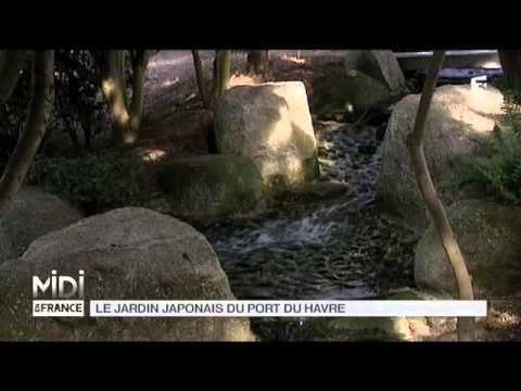vu dici le jardin japonais du port du havre - Jardin Japonais Le Havre