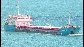 General Cargo Ship HABIBE ANA in Bosphorus Strait