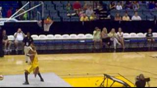 Basketball Mascot Dunk Contest