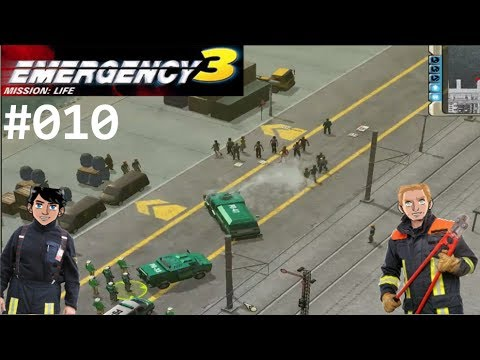 "Emergency 3 #010 ""Demonstration mit Folgen..."" [HD][Let´s Play Together]"