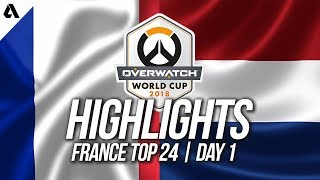 France vs Netherlands | Overwatch World Cup 2018 Paris Qualifier Day 1