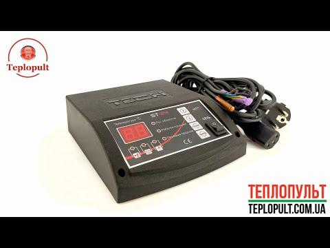 Автоматика для котла TECH ST-24 (на 1 вентилятор и на 1 насос)