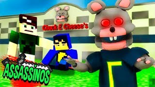 Minecraft: RESTAURANTE REAL DO FIVE NIGHTS AT FREDDY