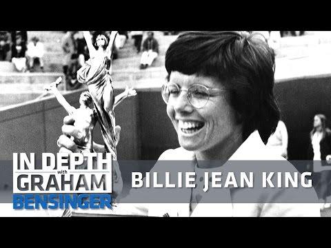 Billie Jean King informed she was 2nd-class citizen