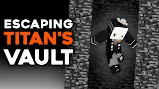 Escaping Minecraft's Tallest Prison (titan's vault V2) ft. MiningBlob