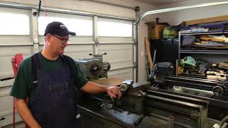 "Clausing 12"" lathe finds a home"