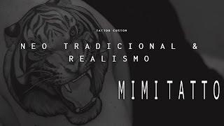 Tatuaje Neo tradicional con MIMI TATTOO / Neo traditional tattoo MIMI TATTOO SPAIN