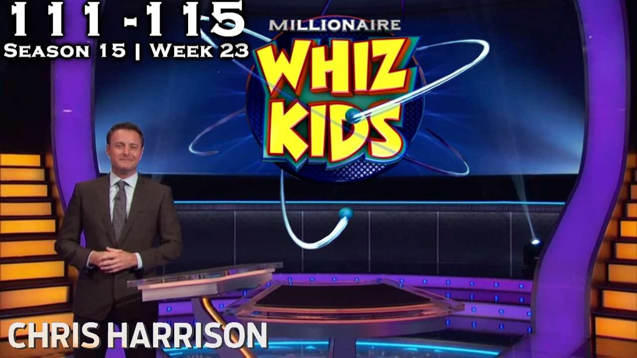 Who Wants To Be A Millionaire Whiz Kids