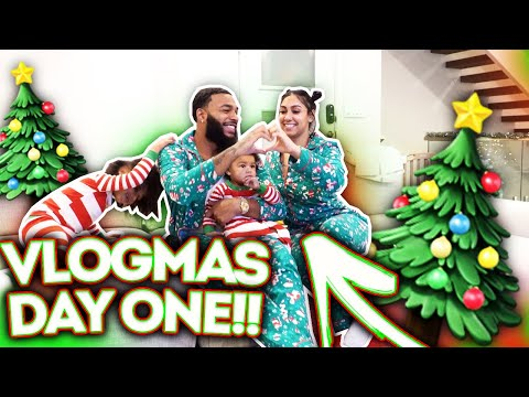 ROYAL FAMILY'S FIRST VLOGMAS!
