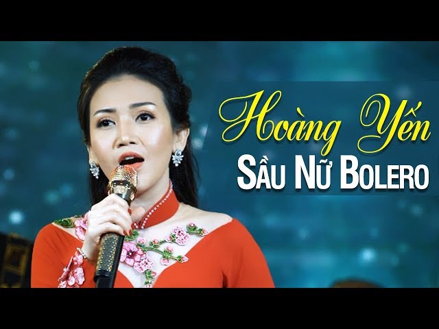 Mưa Đêm Ngoại Ô - Sầu Nữ Bolero Hoàng Yến với những tình khúc Bolero Nhạc Vàng vượt thời gian