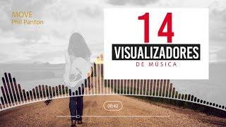 14 visualizadores After Effects al ritmo de la música.