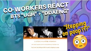 Download Non K-POP Listening Co-workers REACT to BTS UGH + DDAENG