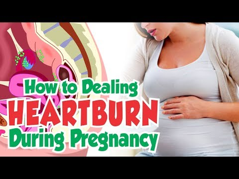 Natural Ways to Deal With Heartburn During Pregnancy | Best Treatment For Pregnant Woman
