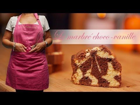 la-recette-du-gâteau-marbré-chocolat-vanille