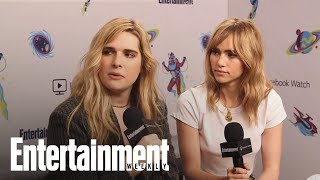 Assassination Nation's Cast Reveals The Hardest Scenes To Film | SDCC 2018 | Entertainment Weekly