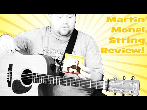 Tony Rice Signature Martin Monel Strings Review