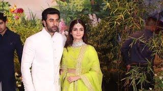 Alia Bhatt, Ranbir Kapoor, Siddharth & Aditya At Sonam Kapoor & Anand Ahuja's Wedding Reception Part