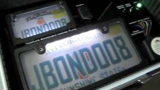 Repeat youtube video james bond license plate 008