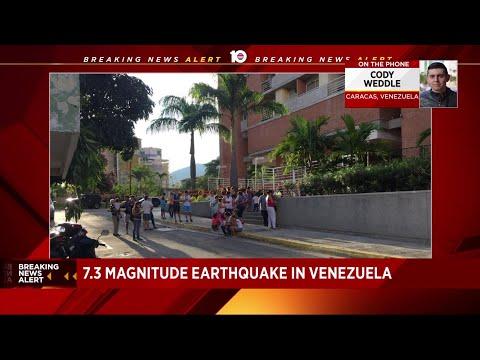 Major earthquake impacts Venezuela