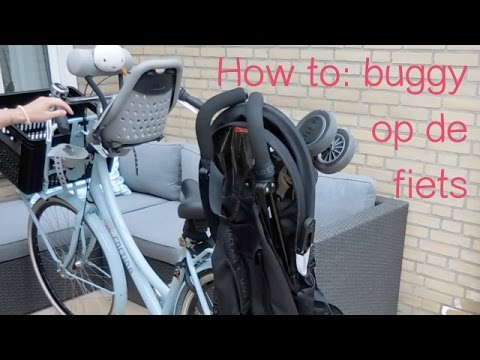 Wonderlijk How to: buggy op de fiets - YouTube AJ-86