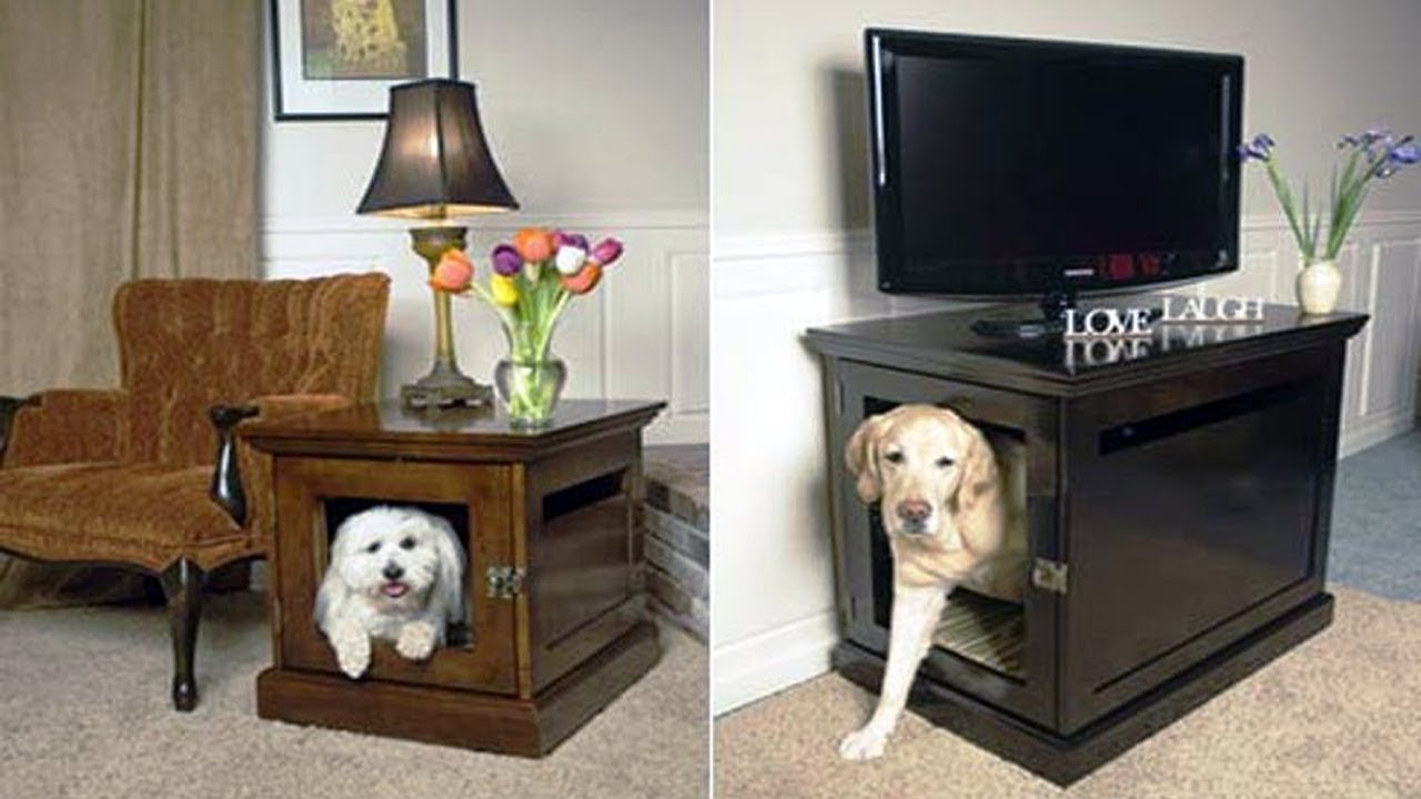 Indoor Dog House Furniture Youtube